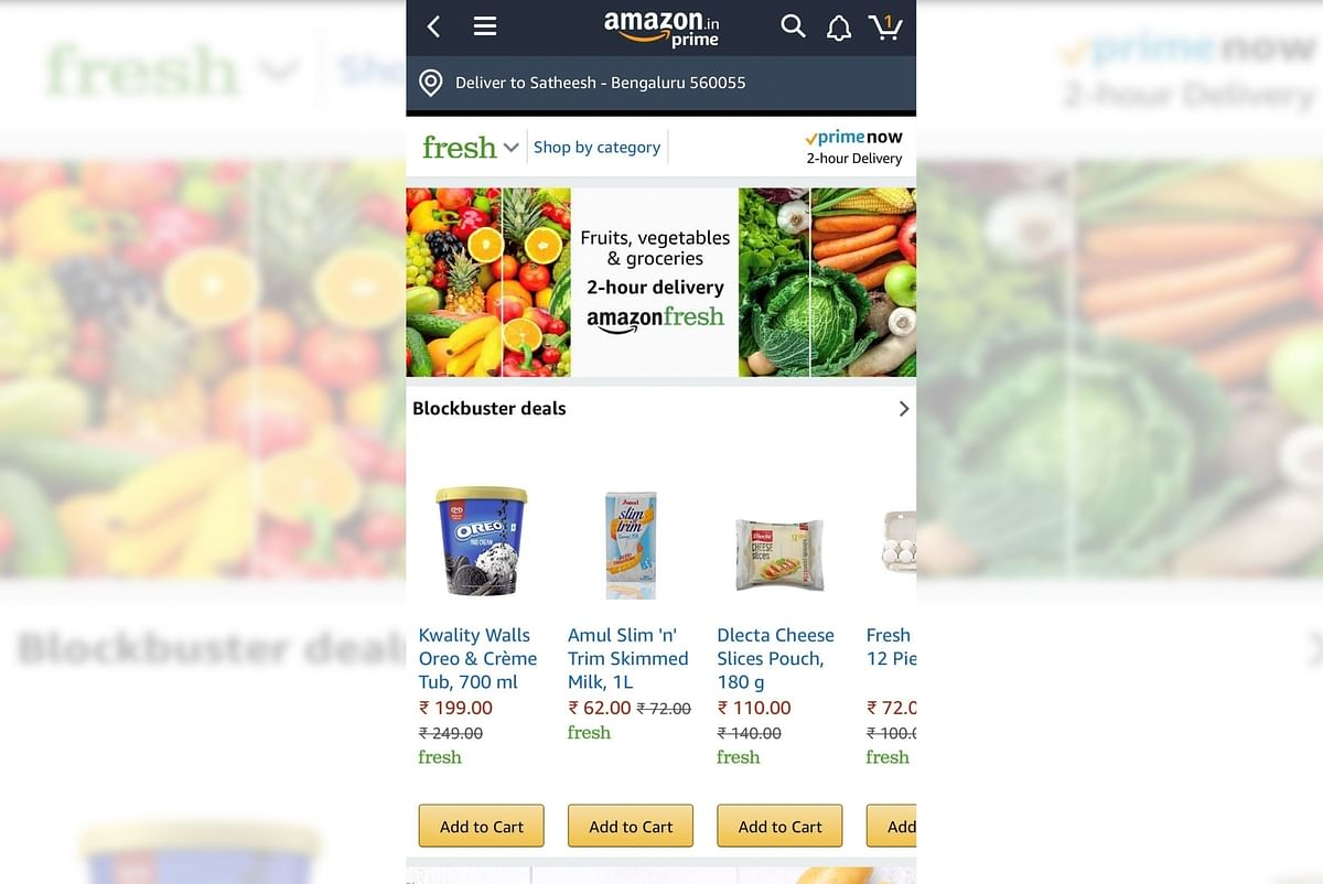 Amazon enters food delivery business in India as Zomato, Swiggy struggle