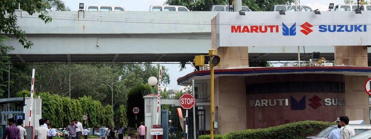 Maruti Suzuki plant at Gurugram in Haryana