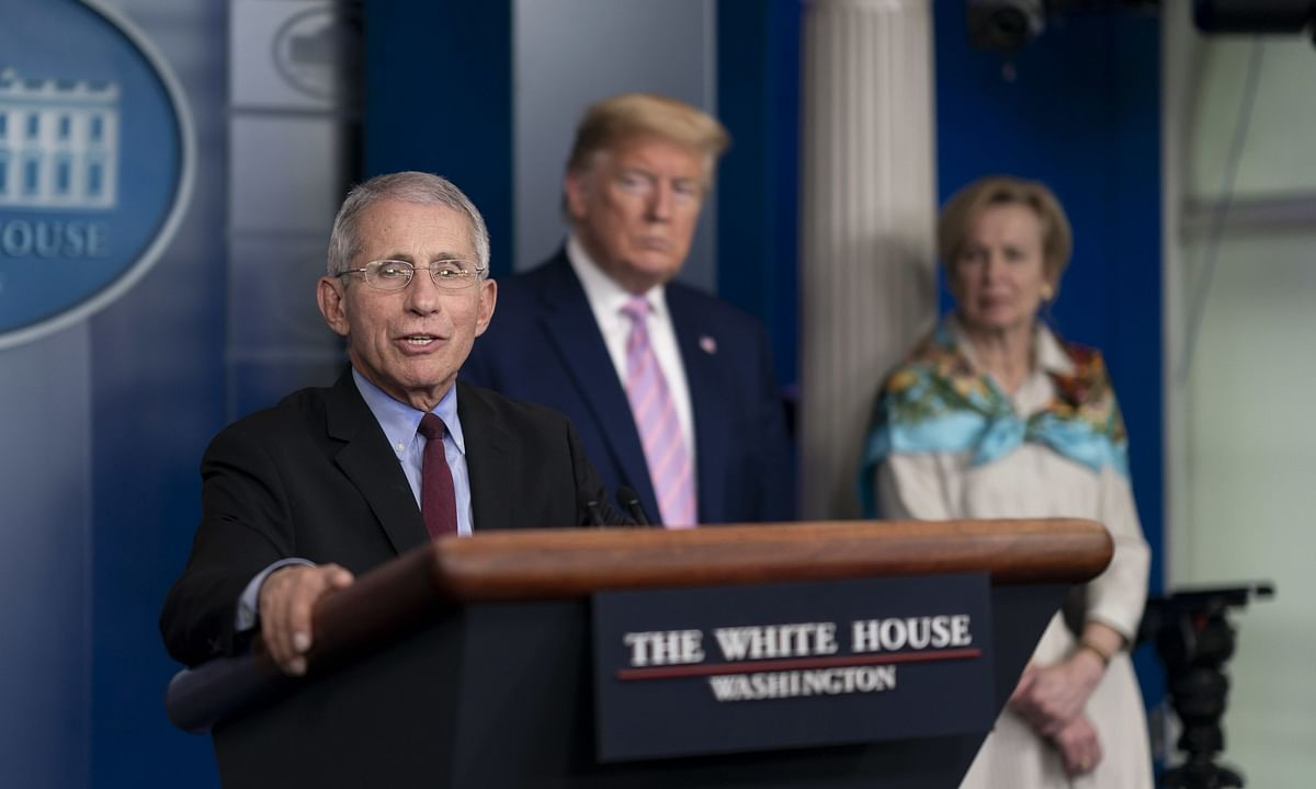 Trump, Fauci at odds over reopening schools in US