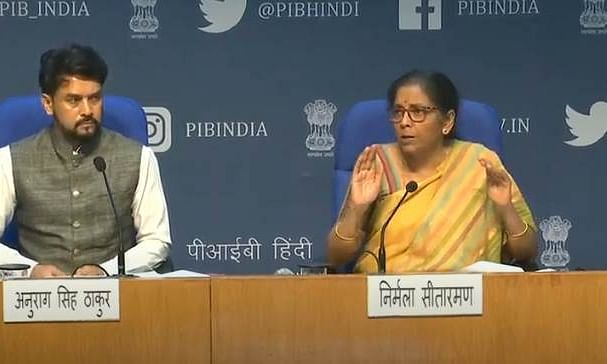 'One nation, one ration card' across India by March 2021: Sitharaman