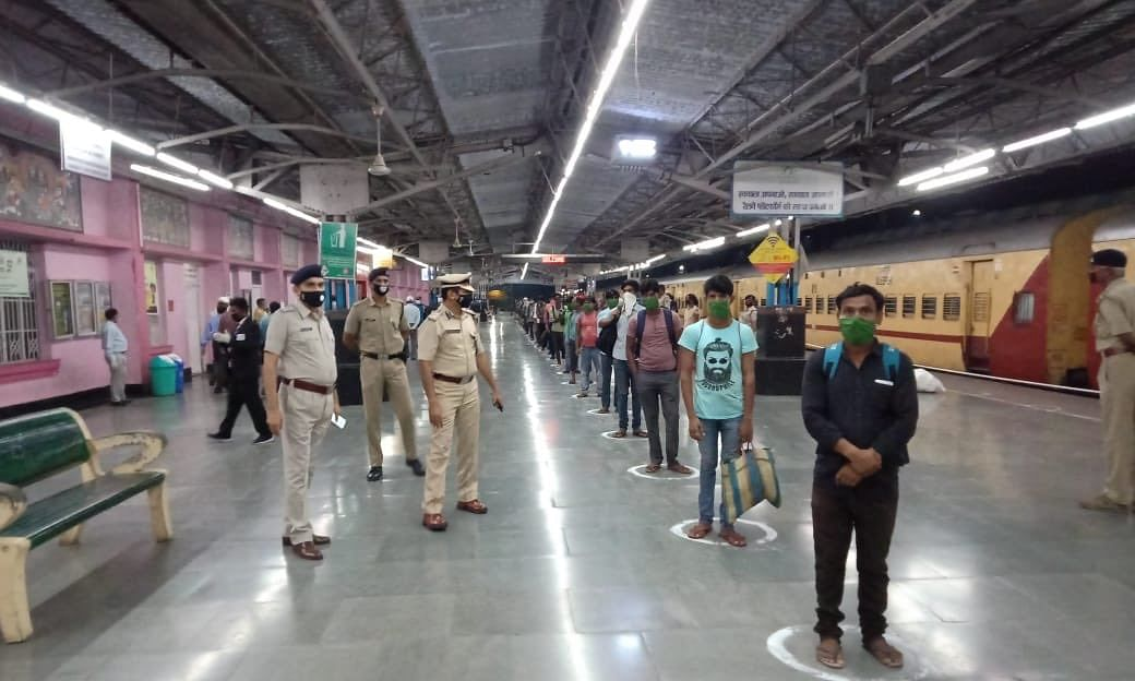 MHA issues revised SOP on movement of stranded workers by trains