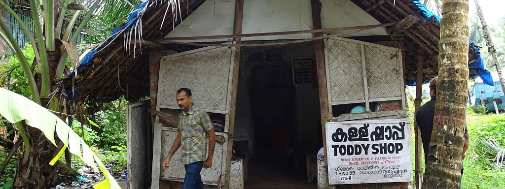 File photo of a toddy shop in Kerala