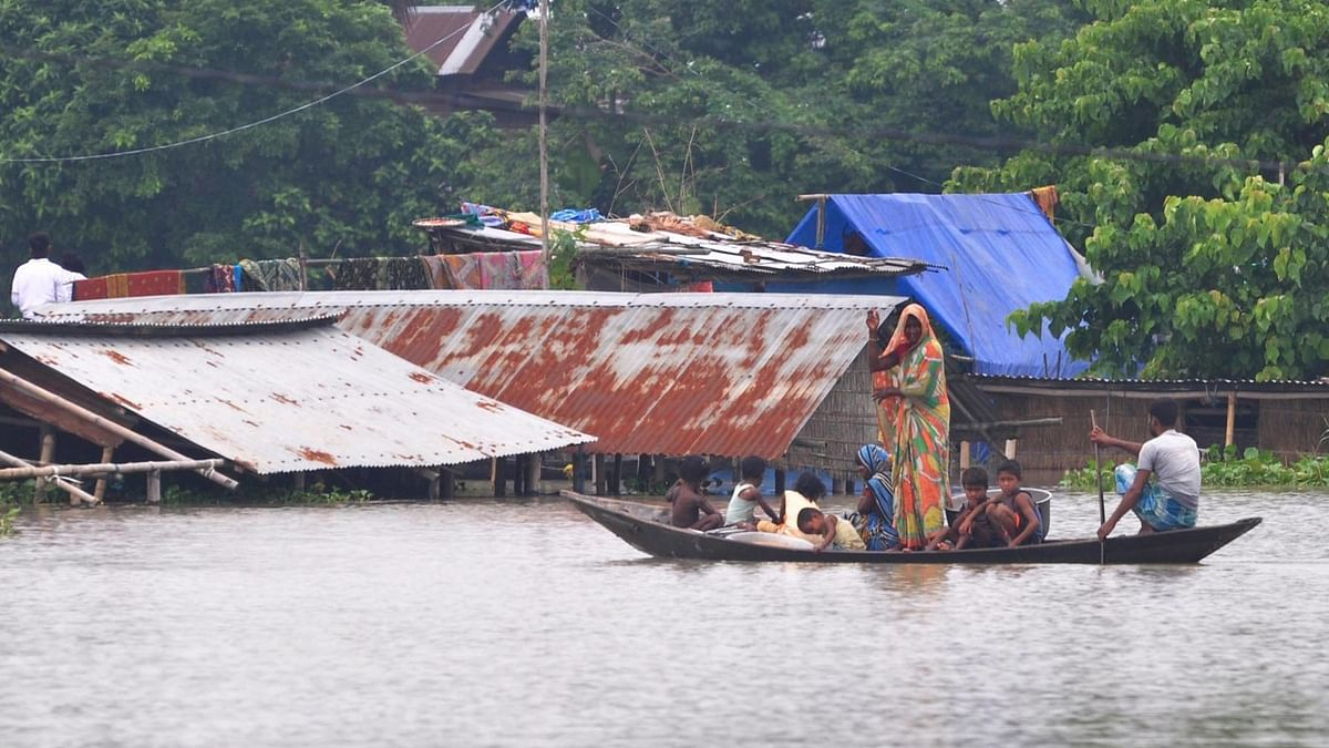 Assam flood situation worsens, 9.26 lakh affected in 23 districts