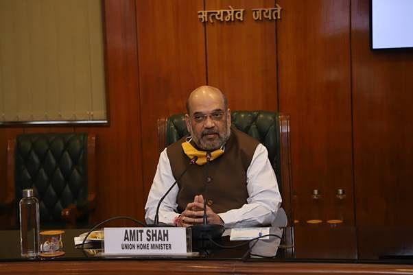 Shah appeals to all parties to rise above political differences to fight COVID-19 in national capital