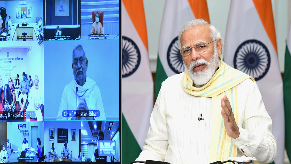 Modi launches Garib Kalyan Rojgar Abhiyaan to boost employment  opportunities for migrant workers