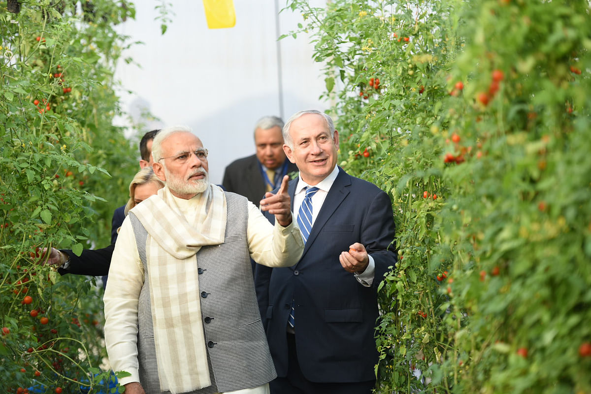Modi talks to Netanyahu, discusses cooperation in COVID-related matters, other areas