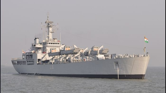 Indian Naval Ship Shardul to evacuate stranded Indians from Iran
