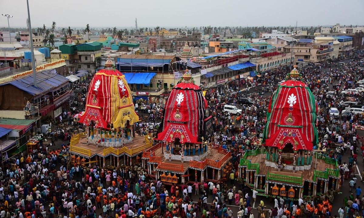 File photo of Jagannath Rath Yatra in Puri.