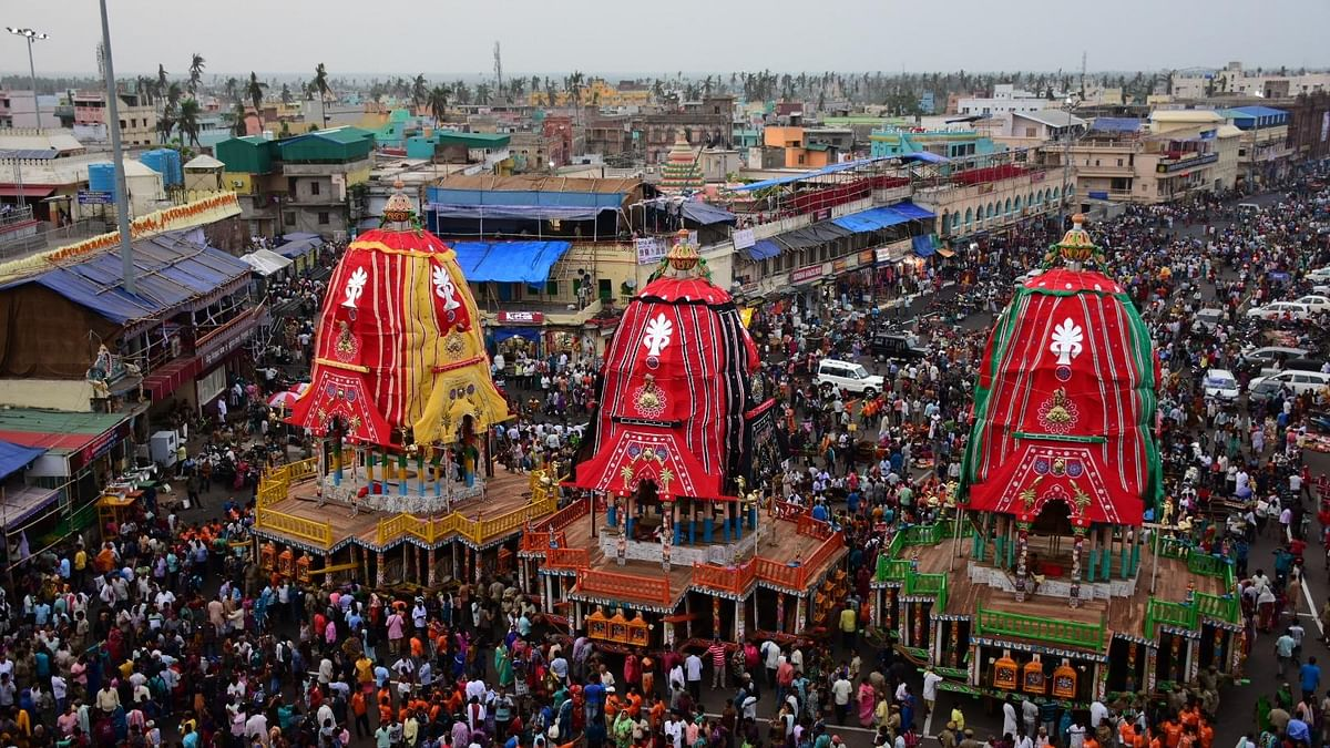 SC allows Puri Rath Yatra with conditions