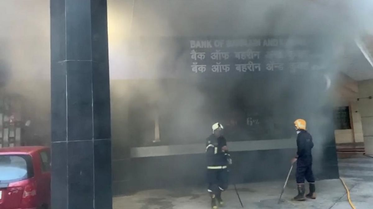 Fire guts IT server room of Bank of Bahrain & Kuwait branch in Mumbai
