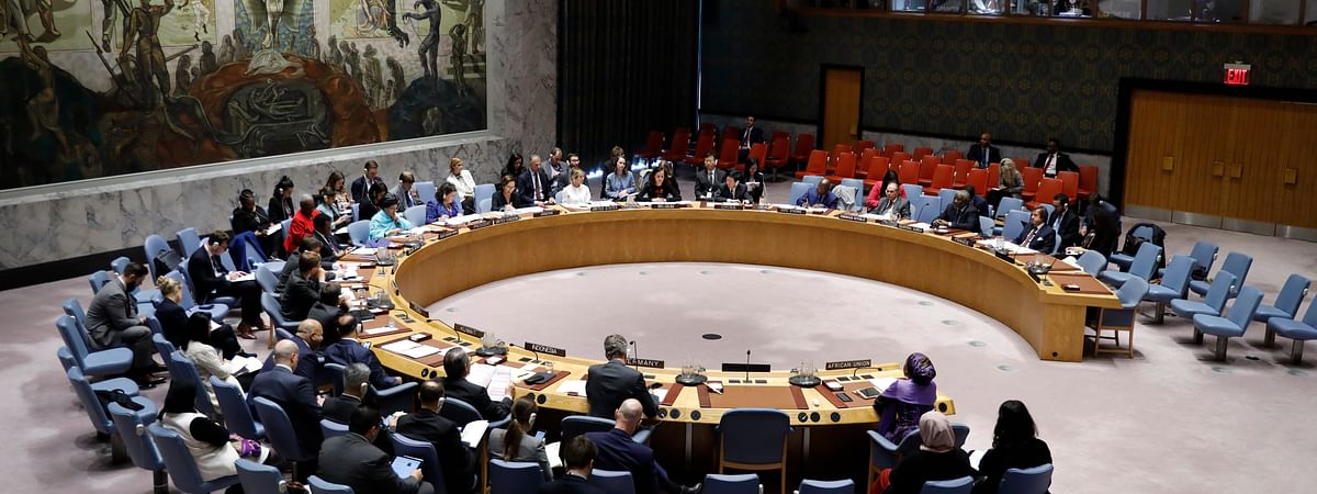 File photo of a UN Security Council meeting