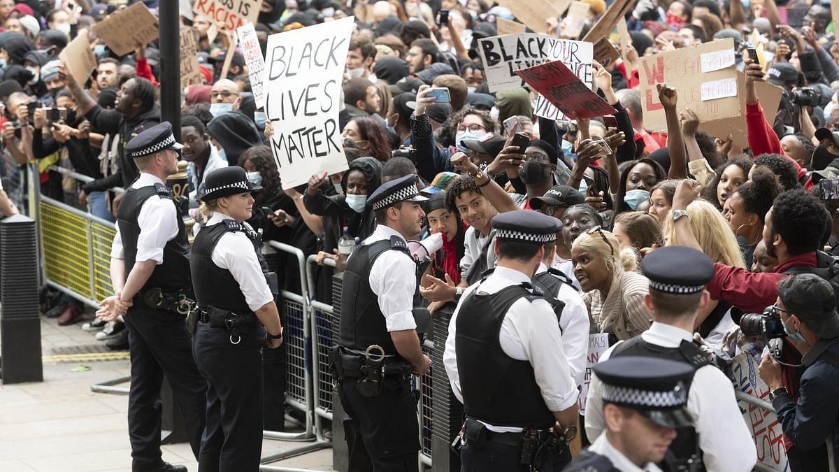 Thousands turn out for UK anti-racism protests
