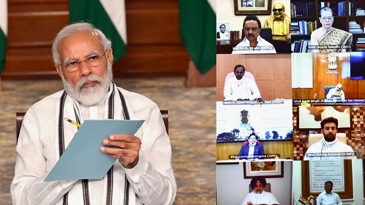 Modi briefs political parties on India-China clash at LAC, says no one inside Indian territory
