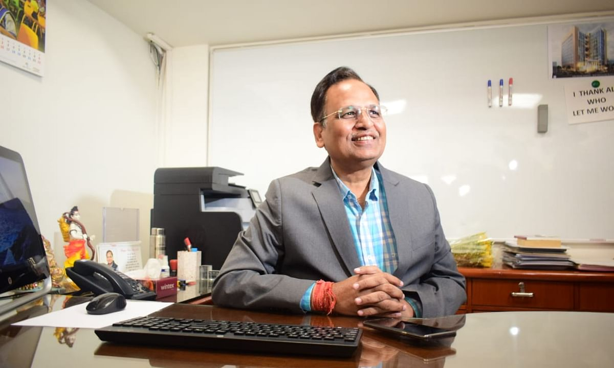 Delhi Health Minister hospitalised after fever, drop in oxygen levels