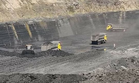 A file photo of a Western Coalfields Limited coal mine