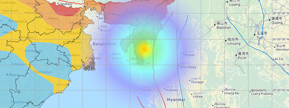 Moderate earthquake shakes Mizoram