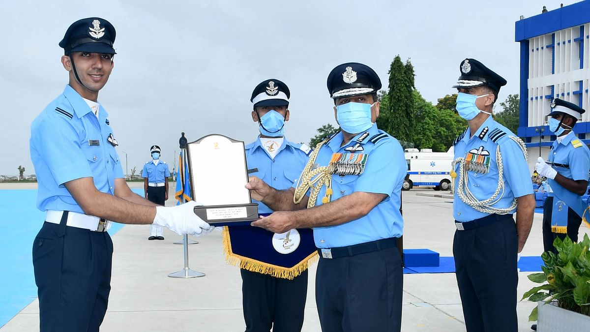 IAF holds Combined Graduation Parade at Air Force Academy, Dundigal