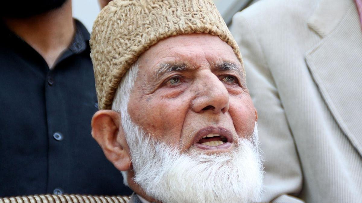 Kashmiri separatist leader Syed Ali Shah Geelani passes away