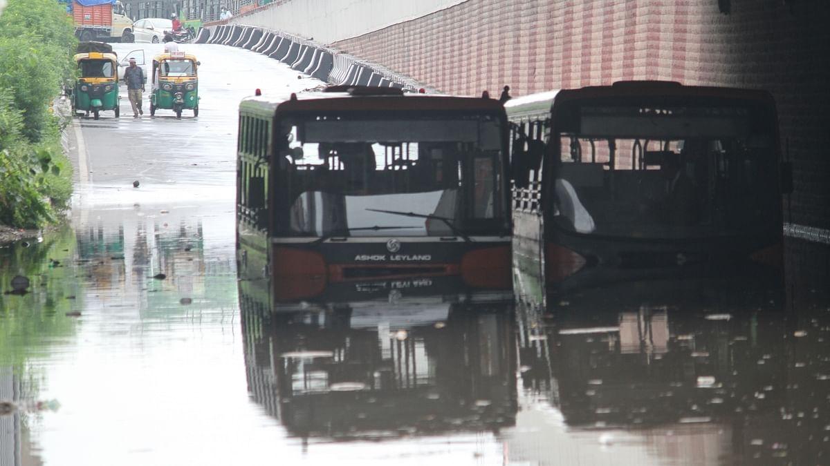 Three killed as heavy rains lash Delhi on Sunday morning