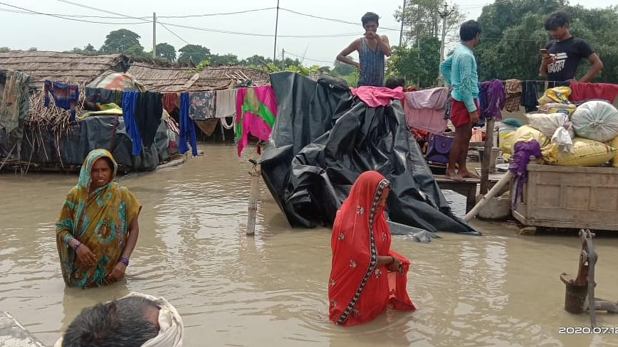 Bihar rivers in spate, 30 blocks affected by floods