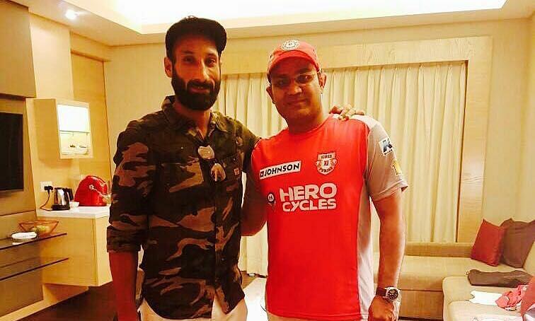 Sardar Singh and Virender Sehwag