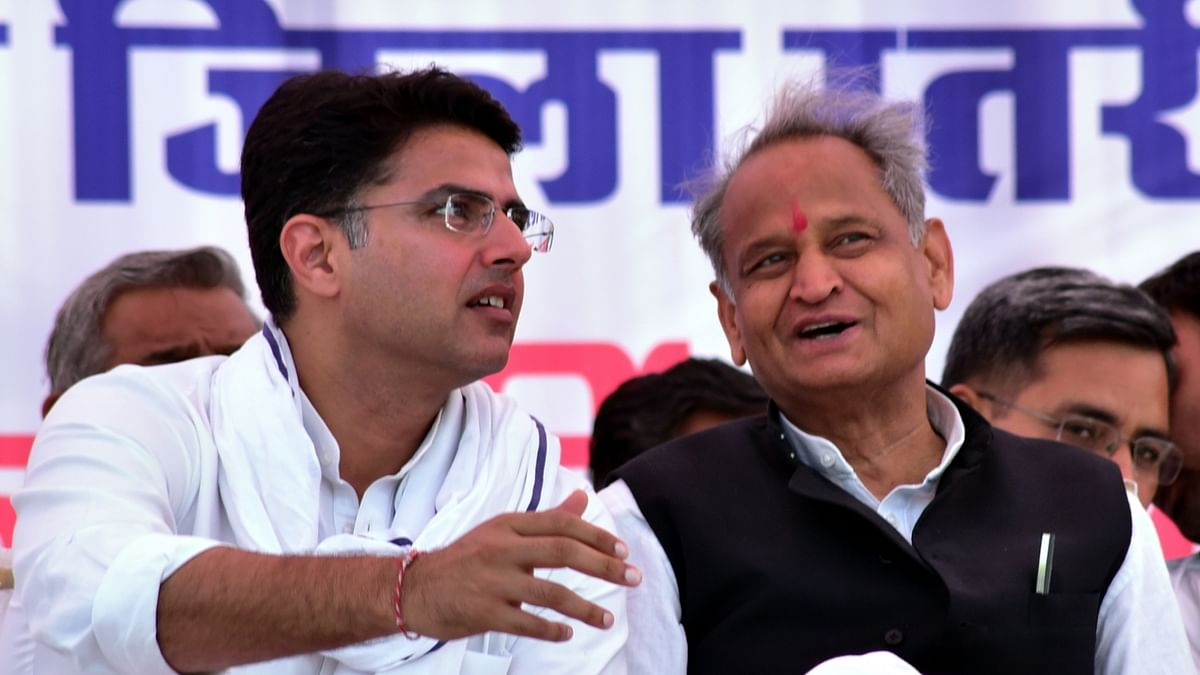 Congress leaders work the numbers to retain power in Rajasthan
