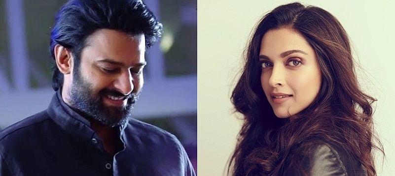 Prabhas and Deepika Padukone