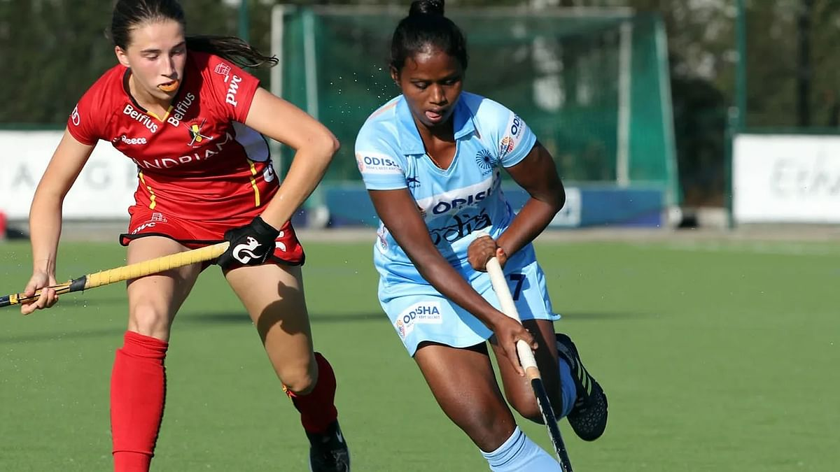 Want to play in Olympics: Jr women hockey midfielder Mariana Kujur