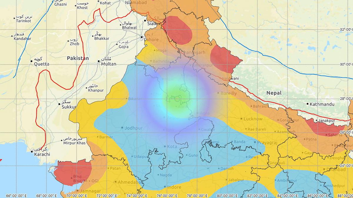 Magnitude 4.7 earthquake shakes Alwar in Rajasthan, tremors felt in Delhi, NCR