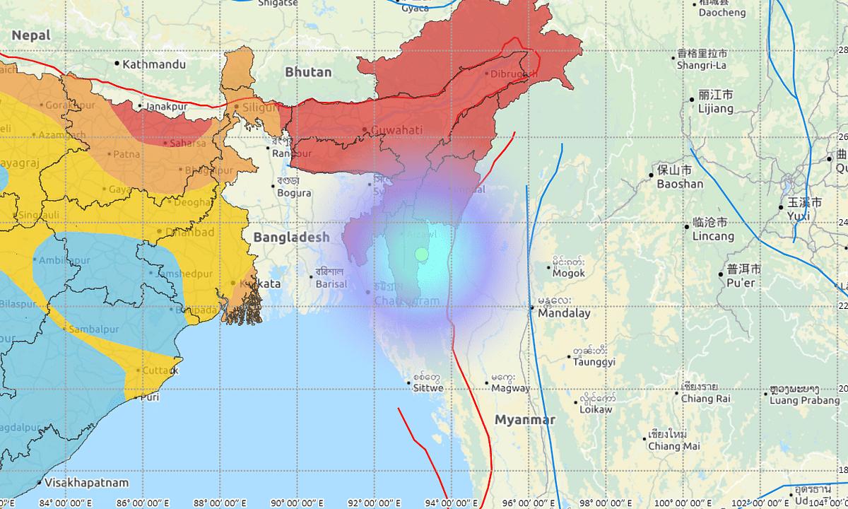 Magnitude 4.6 earthquake shakes Mizoram
