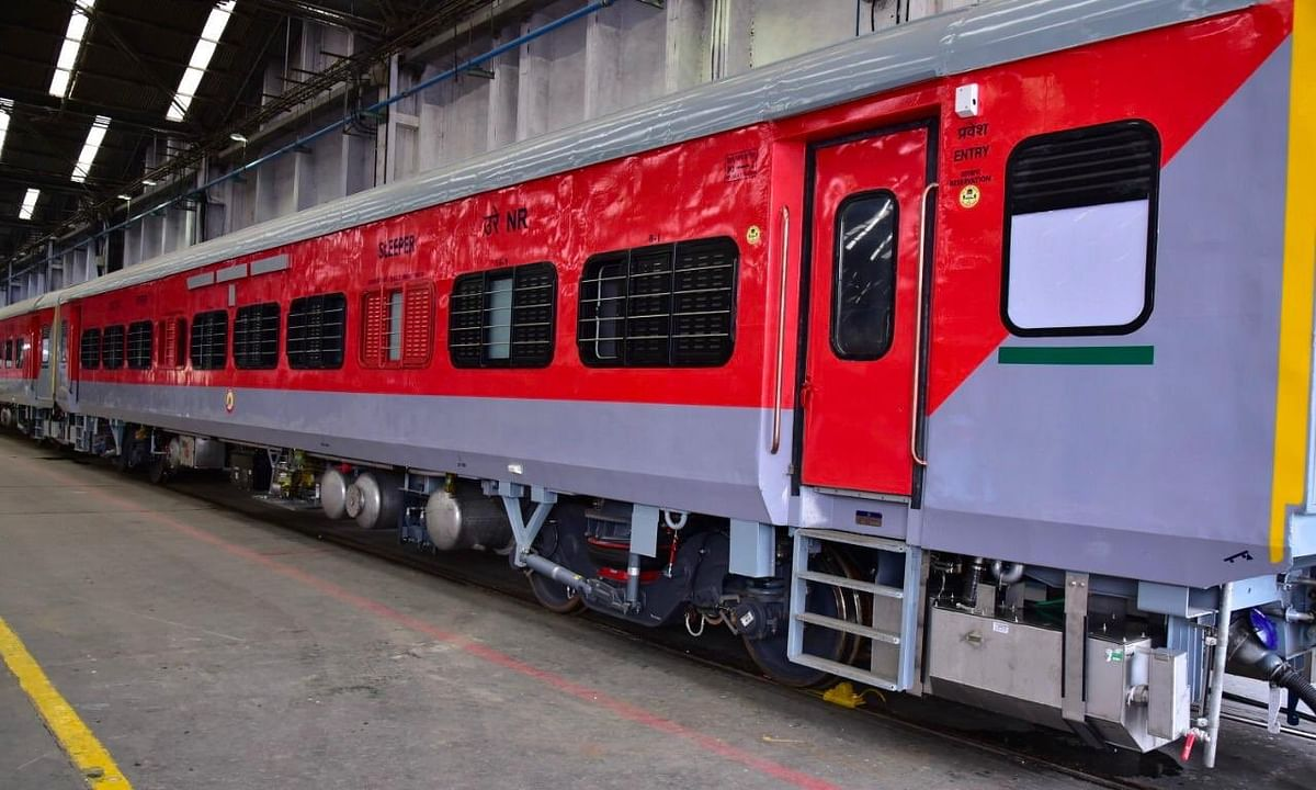 Indian Railways create post-COVID coach to ensure a safer journey