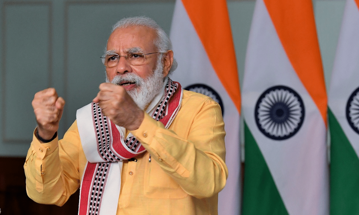 Modi lays foundation stone for water supply project in Manipur