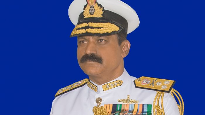 Vice-Admiral M A Hampiholi assumes charge as Commandant, Indian Naval Academy