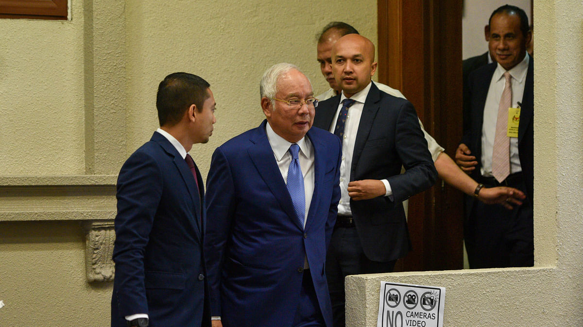 Former Malaysia PM Najib Razak found guilty on all 7 counts in 1st corruption trial