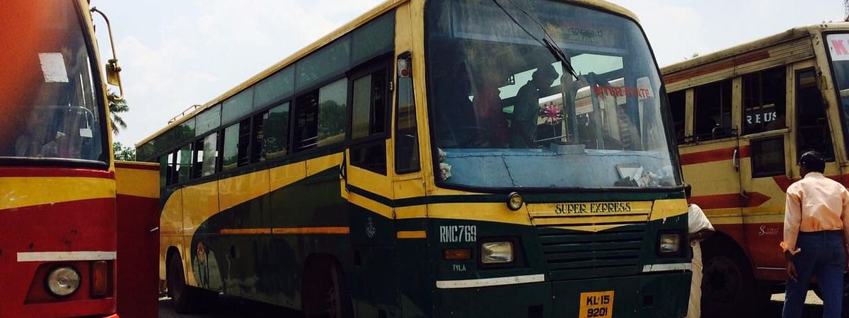 File photo of KSRTC buses