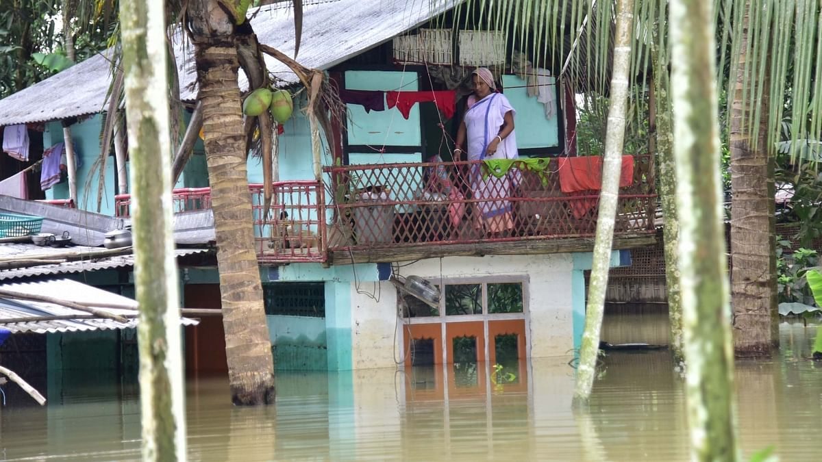 Assam flood situation critical; 76 dead, 36 lakh in distress