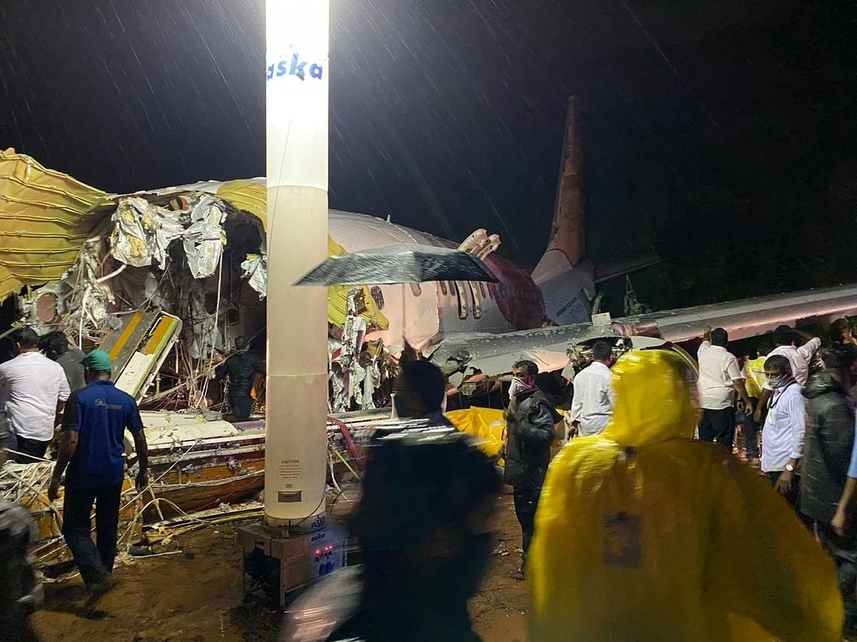 18 dead, more than 140 injured as Air India Express flight from Dubai skids off runway at Kozhikode