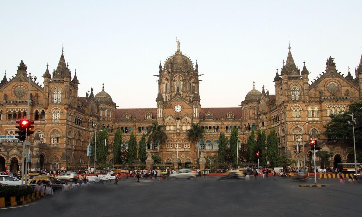 A view of the Chhatrapati Shivaji Maharaj Terminus in Mumbai