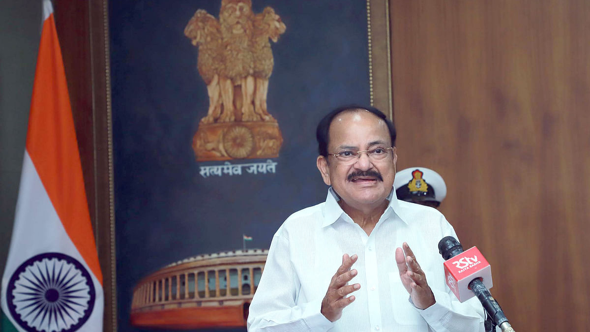 Venkaiah Naidu says he is duty bound to uphold dignity of Rajya Sabha