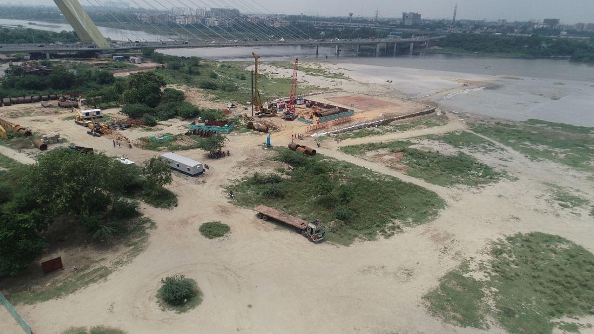 Delhi Metro begins preliminary work on 5th bridge across Yamuna