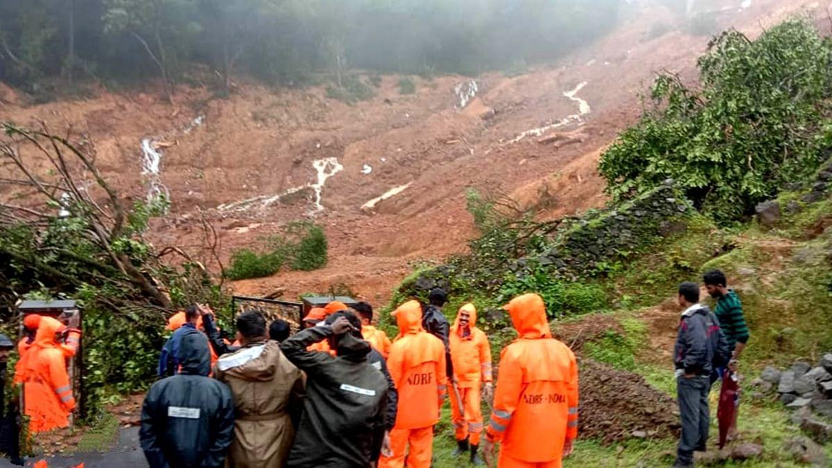 Five feared buried alive in Karnataka hill landslide