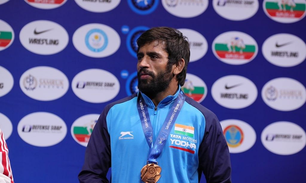 Indian wrestlers have good chance of winning 3-4 medals at Olympics: Bajrang Punia