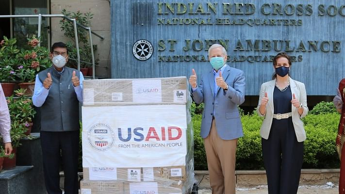 US provides second shipment of 100 ventilators to India