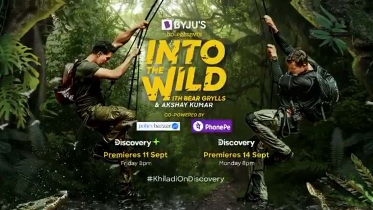 Akshay Kumar to go into the wild with Bear Grylls