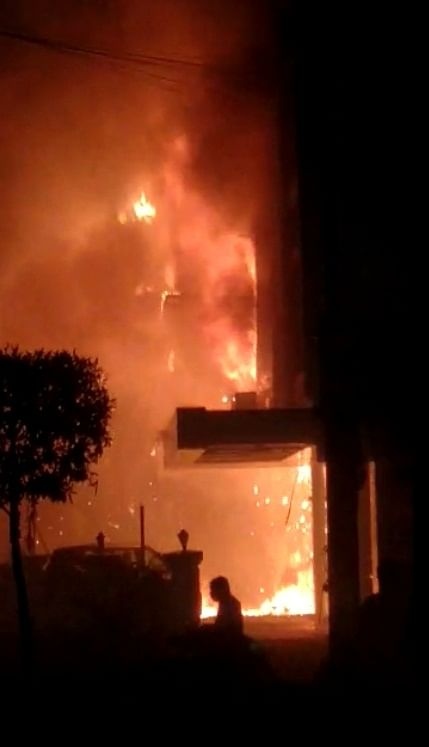 Seven die in fire at COVID care centre in Vijayawada