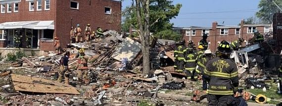 1 dead, 6 injured, 3 homes destroyed in Baltimore gas explosion