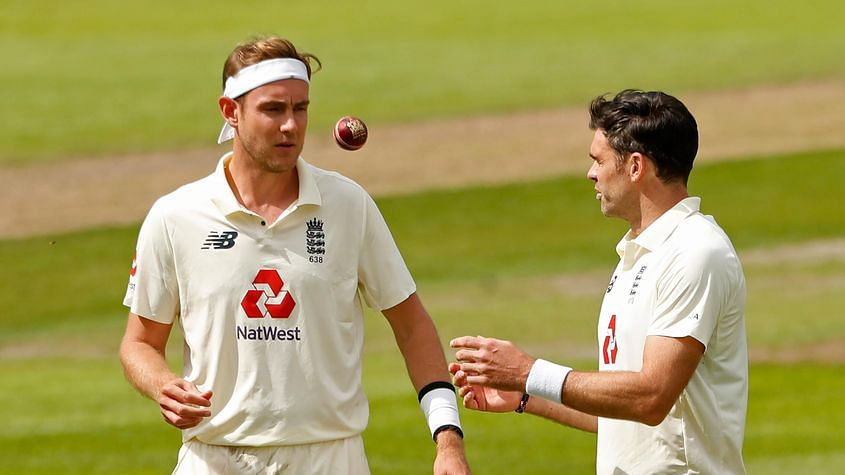 England bowlers Broad, Anderson move up in Test rankings