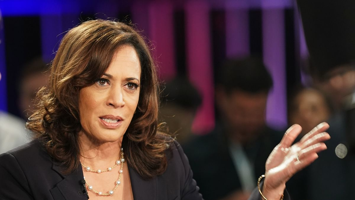Kamala Harris makes history, invokes mother's memories