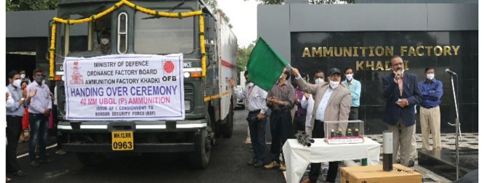 AFK, Pune achieves indigenous production of 40 mm UBGL ammunition
