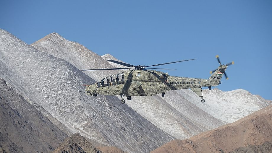 HAL's indigenous light combat helicopters deployed for operations at Leh